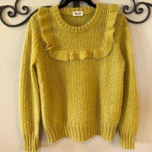 Baum Und Pferdgarten Pullover Chartreuse Sweater